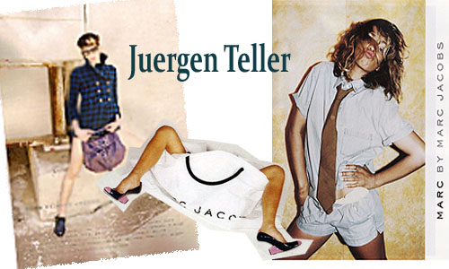Previous MJ Ad campaigns shot by Juergen Teller